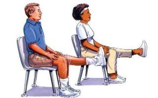 Откачивание жидкости из колена