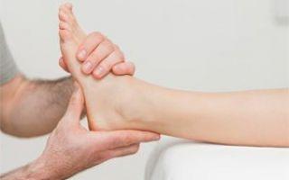 Воспаление голеностопного сустава