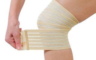 Растяжка связок коленного сустава
