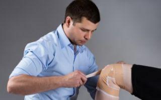 Разрыв внутренней боковой связки коленного сустава
