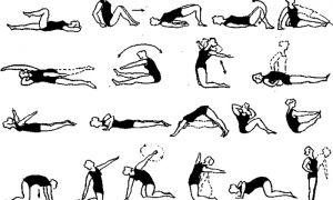 Упражнения для укрепления тазобедренного сустава