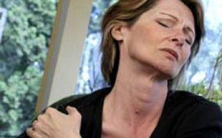 Чем лечить боль в плече