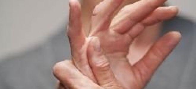 Болит большой палец руки