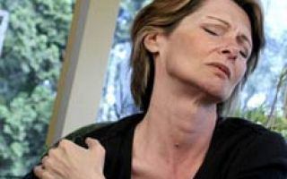 Боль в правом плечевом суставе