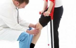 Боль в ноге под коленом сзади