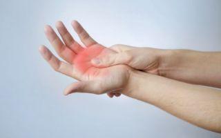 Гигрома сустава пальца руки