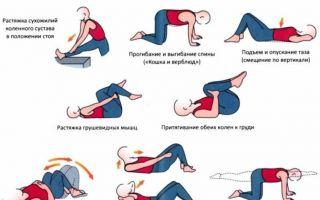 Лечебная физкультура при шейно грудном остеохондрозе