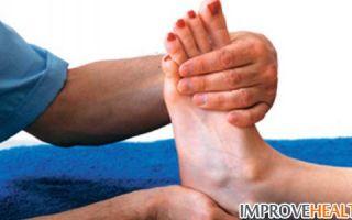 Вывих ноги чем лечить