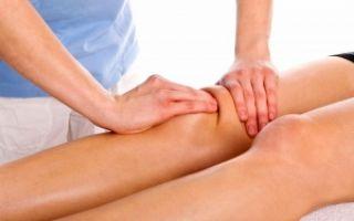 Самомассаж коленного сустава при артрозе