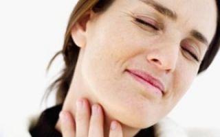 Симптомы при шейном остеохондрозе