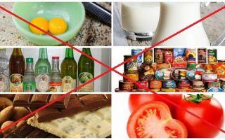 Питание при полиартрите