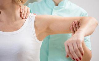 Лечение при вывихе плечевого сустава
