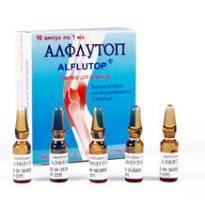 препарат алфлутоп для коленных суставов