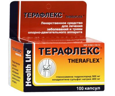 Как принимать терафлекс при артрозе коленного сустава