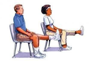 Лёгкая гимнастика для коленных суставов