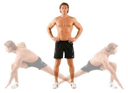 Перед выполнением упражнений необходимо размяться