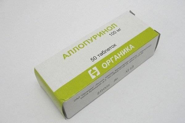 Аллопуринол лечение падагры
