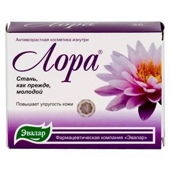 Таблетки с гиалуроновой кислотой «Лора»