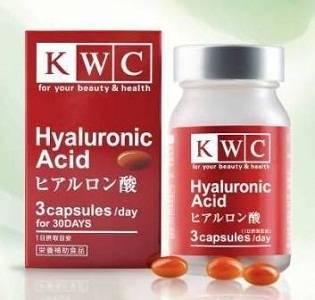 KWC - капсулы гиалуроновой кислоты японского производства