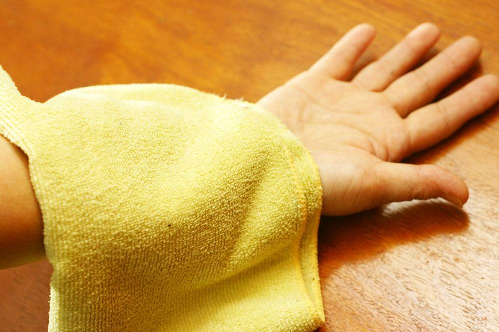 Лечение заболевания с помощью димексидового компресса