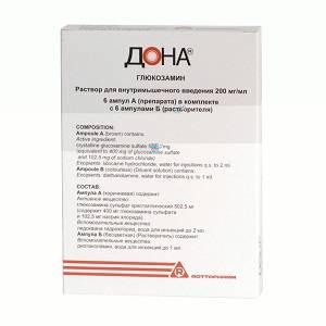 Препараты-хондропротекторы дона