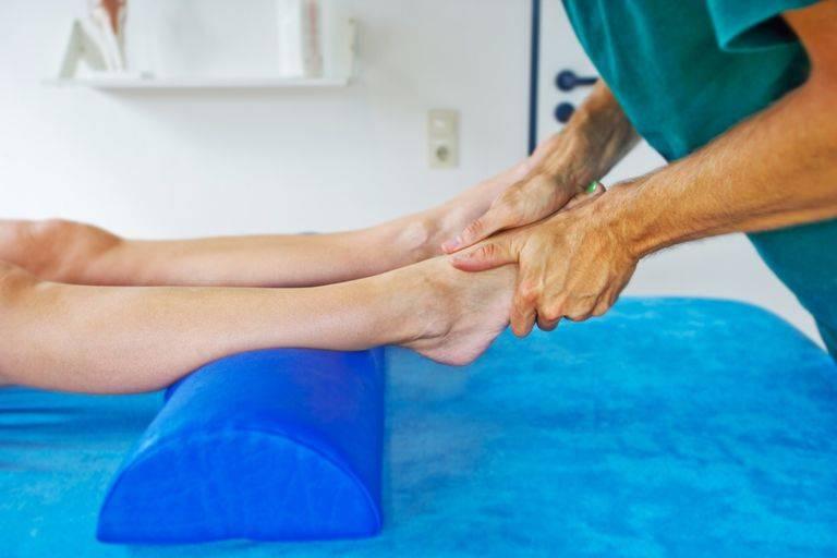 растяжение связок голеностопа лечение в домашних условиях
