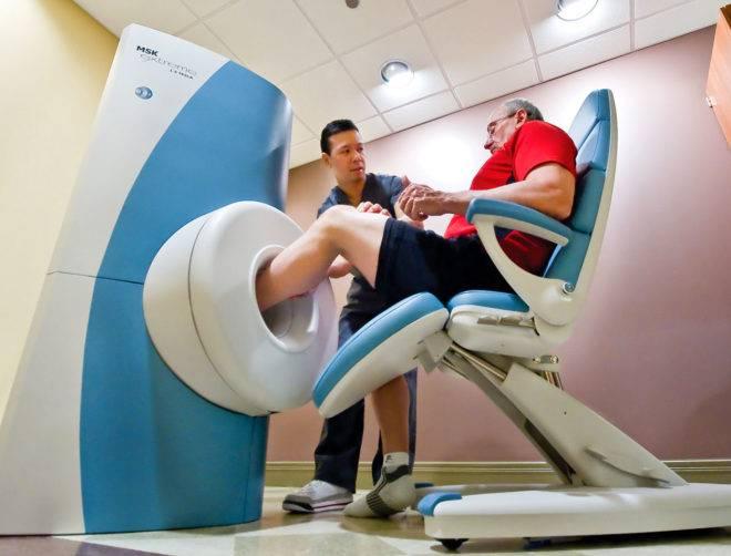 Проведение МРТ при полиартрите ног