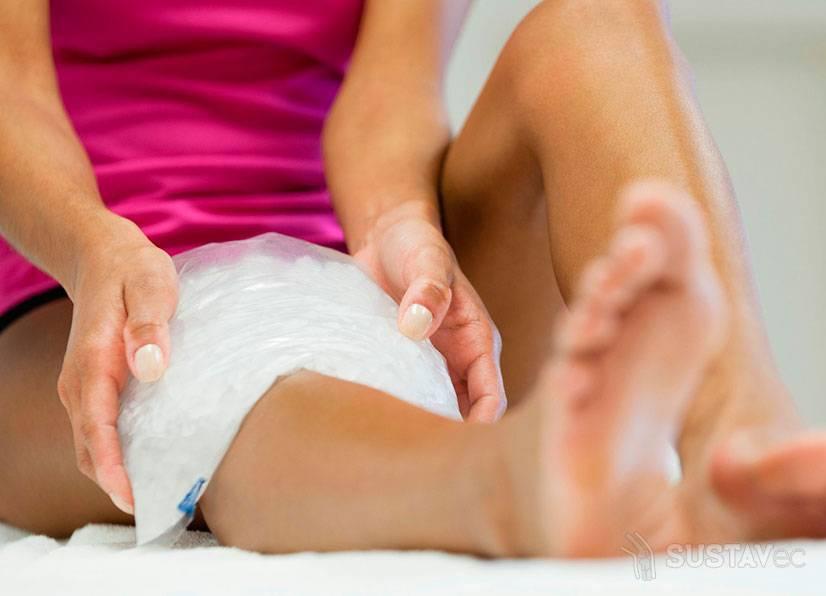 Лечение скопления жидкости в коленном суставе 2-4