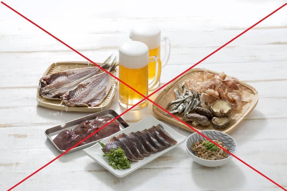 Антипуриновая диета меню на каждый день