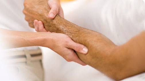 массаж локтевого сустава
