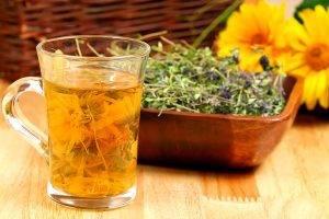 Напиток из календулы
