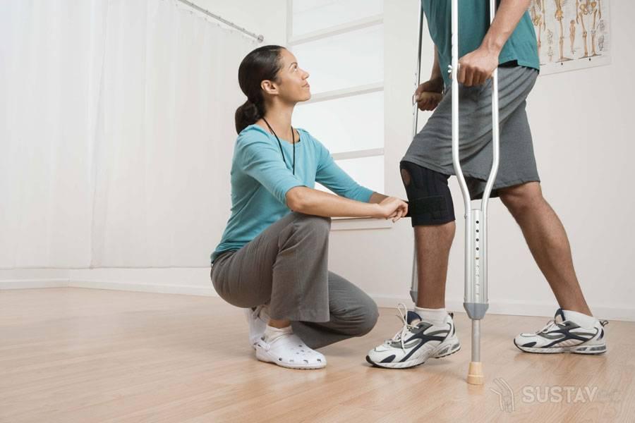 как укрепить связки коленного сустава после эндопротезирования