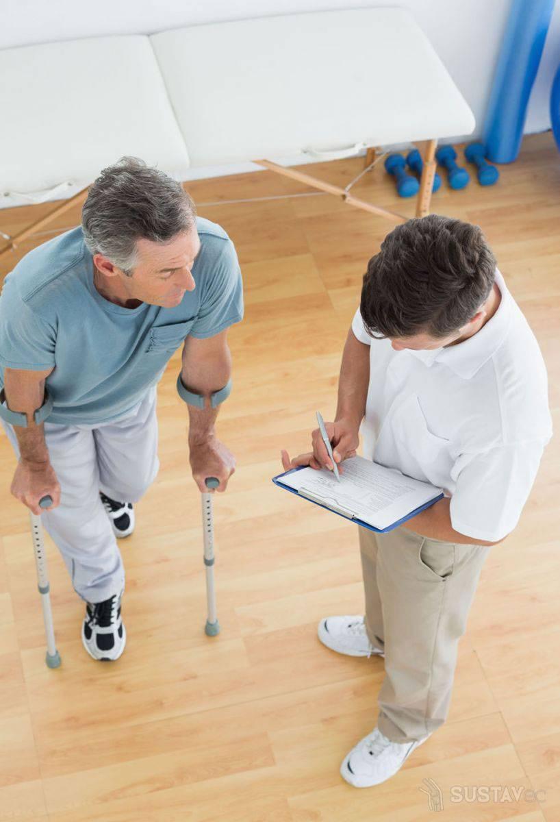 Реабилитация после операции эндопротезирования коленного сустава: периоды восстановления 15-5