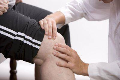 после травмы колена