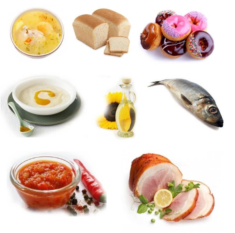 Противопоказание продуктов при артрозах