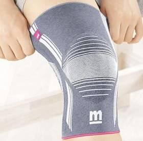 Бандаж зафиксирует травмированный сустав на месте и поможет избежать дальнейшего серьезного травмирования