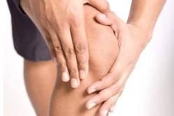 Воспаленный сустав в колене