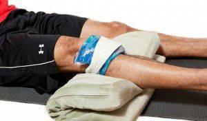 Первая помощь пострадавшему - холодный компресс