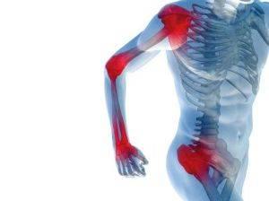Болезненность в пораженных суставах