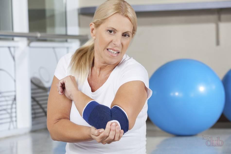 Боль в локтевом суставе после физической нагрузки