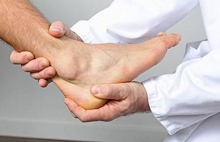 Диагностика артроза голеностопного сустава