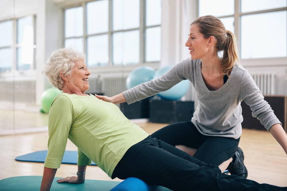 ЛФК и комплекс упражнений после замены коленного сустава