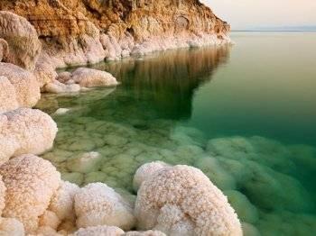 соль мертвого моря фото