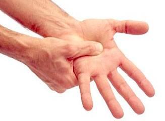 Подвывих большого пальца руки