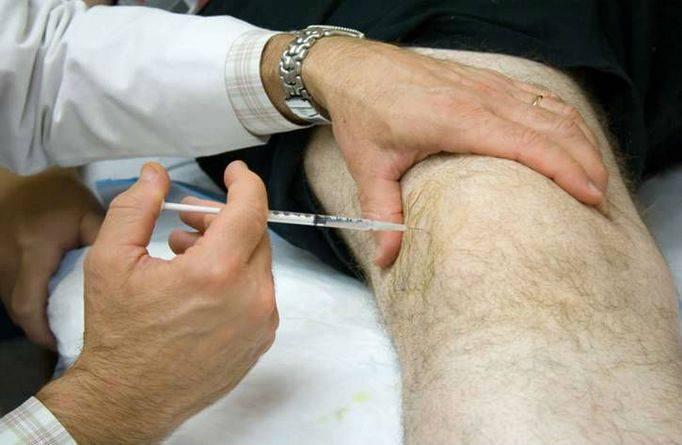 Инъекция гиалурона в колено