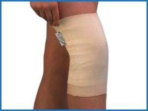 Советы по применению давящей повязки при супрапателлярном бурсите коленного сустава