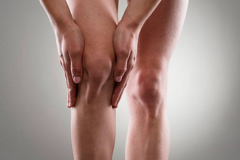 Очень сильно болит колено, что делать