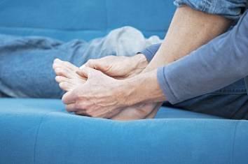 боли в ноге из-за подагры
