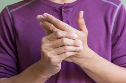 Загибание пальцев
