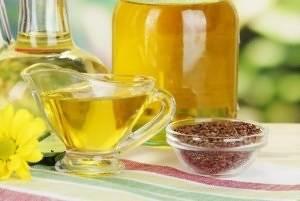 Льняное масло - источник омега-3 жирных кислот